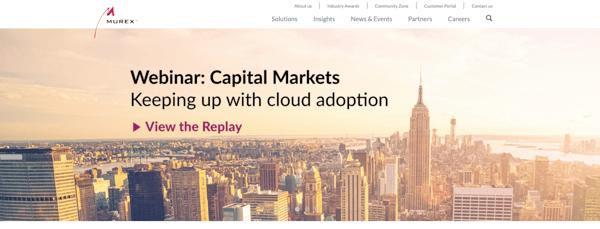 Murex-homepage