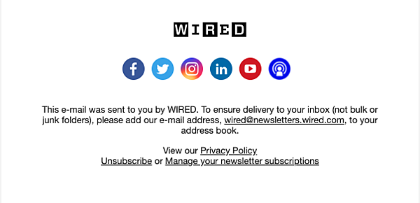 Wired-Footer
