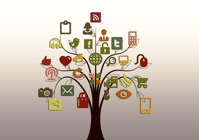 logos-illustrations-réseaux-sociaux